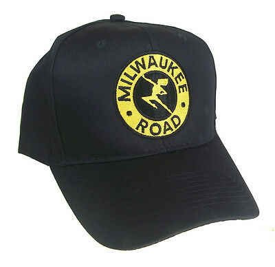 The Milwaukee Road Embroidered Railroad Cap 40-2255