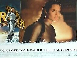 LARA CROFT The Cradle of Life Tomb Raider 11x14 Lobby Cards Set - Angelina Jolie