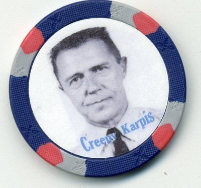 Creepy Karpis  Gangster  Collector Chip