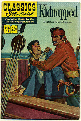 Classics Illustrated, No. 46; June 1970 (Kidnapped)