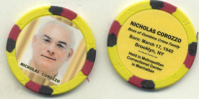 Nicholas Corozzo Gangster  Collector Chip