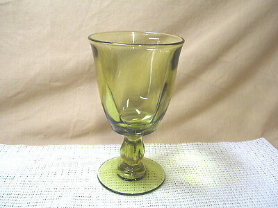 Vintage Tiffin Crystal Canterbury Greenbriar Pattern Water Goblet