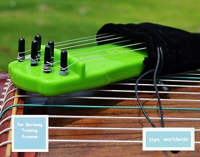 """(Sold out) 6-String, 9"""" Plastic Finger-Training Guzheng, Chinese Zither Harp"""