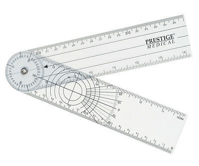 Prestige Medical GONIOMETER RULER  360 Degree  Spinal