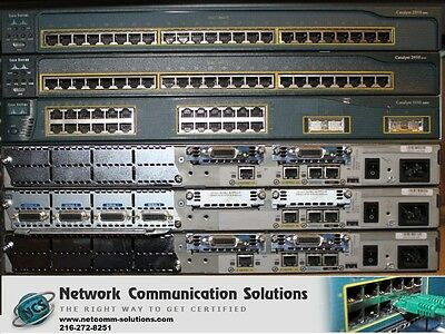 Cisco CCENT CCNA CCNP 1721 2610XM CME 4.0 HOME LAB KIT BEST /& CHEAP LAB ON