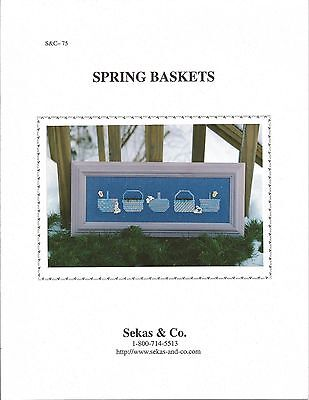 """""""Spring Baskets"""" with buttons by Sekas & Co. S&C - 75"""