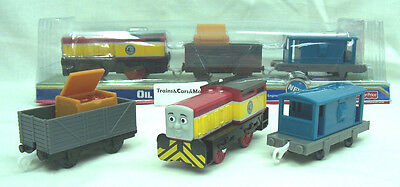 Thomas TrackMaster Motorized Battery  OIL and TROUBLE  DART  DAY OF THE DIESELS