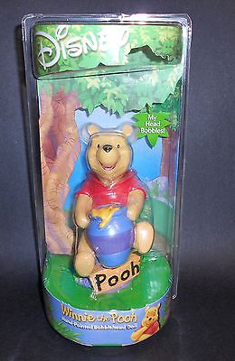 BRAND NEW ~ Disney's WINNIE THE POOH Hand-Painted BOBBLEHEAD Doll ~ Collectible