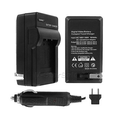 AC/DC Battery Charger for Canon BP508 BP511 BP511A BP512 BP522 BP535