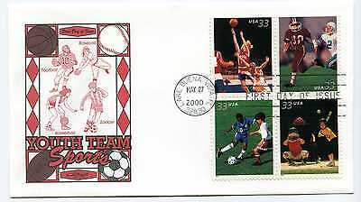 3399-02 Team Sports on one Artmaster FDC