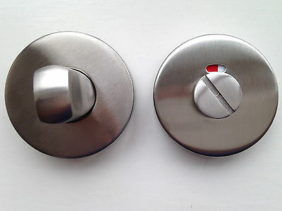 Bathroom Turn & Release (T01) Polished or Satin Stainless Steel