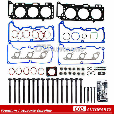 Head Gasket Set Bolts Fits 97-01 Ford Explorer Mercury Moutaineer 4.0 SOHC VIN E