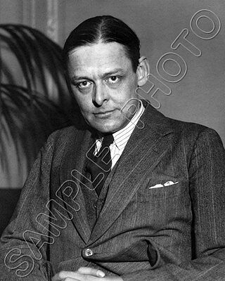 T.S. Eliot #1 Photo 8x10 - 1952