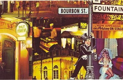 NEW ORLEANS, LA GREETINGS FROM BOURBON STREET