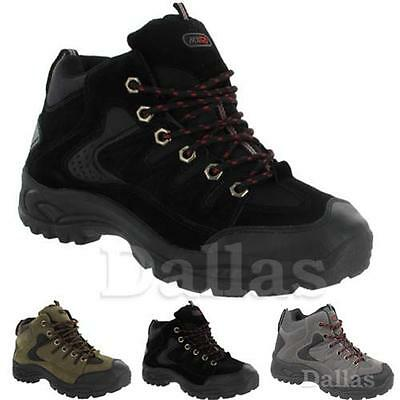 Mens Hiking Boots  Walking Ankle High Top Trail Trekking Boot Trainers Size 7-12