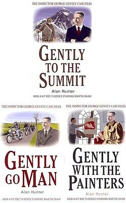 ALAN HUNTER - GEORGE GENTLY COLLECTION - 3 NEW BOOKS (nos 7, 8 & 9)
