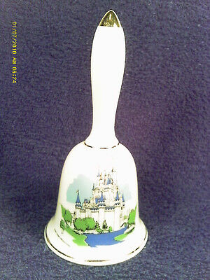 "[M12] 5"" Porcelain Bell Walt Disney World"