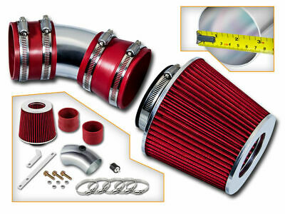 Filter BCP RED 08-10 Challenger 3.5L V6 Racing Air Intake Induction Kit