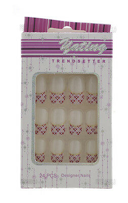 24 Faux Ongles Pret A Poser Manucure  Onglerie Peterandclo 1864