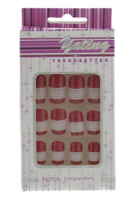 24 Faux Ongles Pret A Poser Manucure  Onglerie Peterandclo 1867