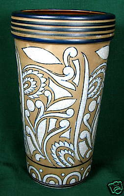 Formalities by Baum Brothers Retro Paisley Pottery Vase