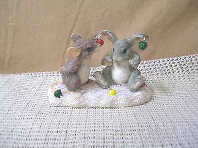 "Fitz & Floyd Collectibles Charming Tails ""Decorating Binkey"""