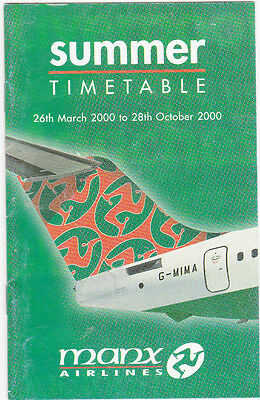 Timetable manx airlines summer timetable