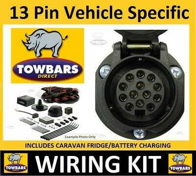Towbar 13 Pin Wiring Kit BMW 5 Series E60/E61 03 10 Vehicle Specific Electrics