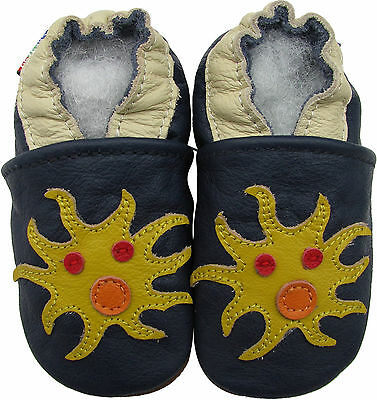Shoeszoo (carozoo) sea monster 3-4y soft sole leather toddler shoes slippers