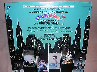 SeeSaw Original Cast Michele Lee and Ken Howard  BDS 95006