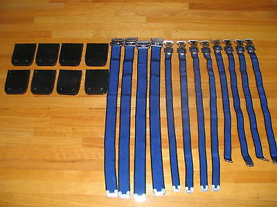 2 Set of New Drywall Stilts Strap And Soles Blue Color