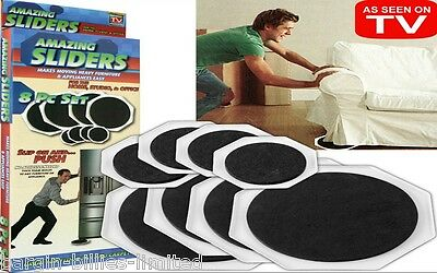 8 Furniture Movers Sliders Gliders Protect Flooring