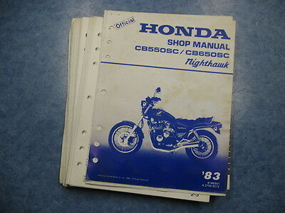 cb650sc repair manual