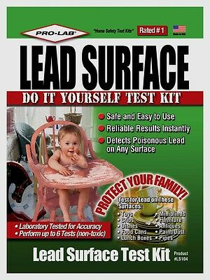 New PRO-LAB Lead Surface Test Kit Professional Safe & Easy Rated #1 LS104 NIB