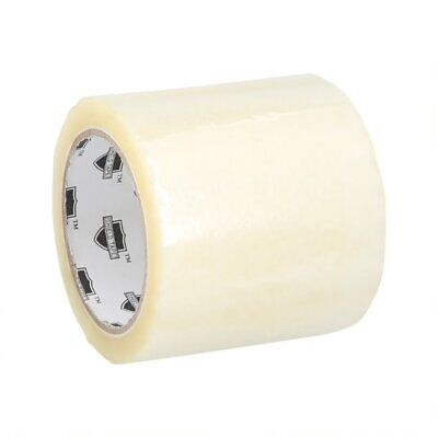 "(18 ROLLS) CLEAR BOX PACKING SHIPPING TAPE 4"" x 72 YARDS 2.0 MIL THICK 18 RLS/CS"