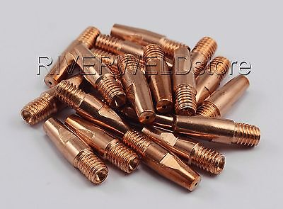 Contact Tip M8*0.9mm for MB36 36KD MIG MAG Welding Torch 20pk