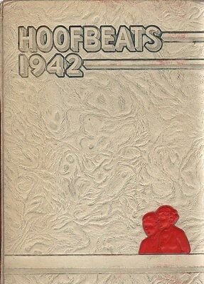 High School Yearbook North Phoenix HS Phoenix Arizona Hoofbeats 1942