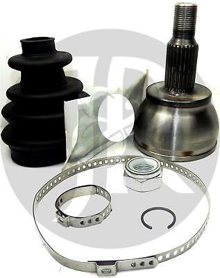 MERCEDES A CLASS 1.7 HUB NUT /& CV JOINT BOOT KIT DRIVESHAFT BOOTKIT-GAITER 98/>ON