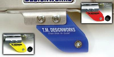 TM Designworks Rear Chain Guide/Mount Yamaha YFZ450 Blue 06 07 08 09