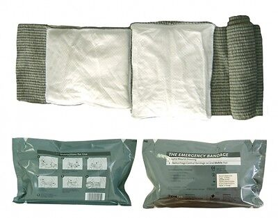 "Brand New 6"" Israeli Emergency Bandage 6 "" Inch with 2nd Mobile Pad IFAK EMT"