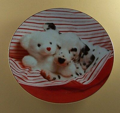 THE BEST SPOT  Those Delightful Dalmatians Plate Dog Puppy Teddy Bear