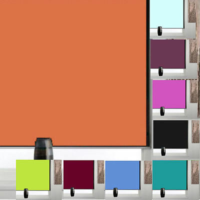 Blackout Roller Blinds Blind In 12 Colours - Uk's Best Prices