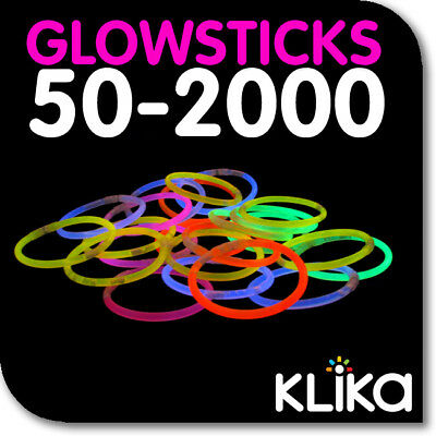 Coloured Glow Light Sticks Party Glowsticks Bracelets In The Dark