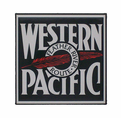 Western Pacific Railway Railroad Magnet #58-1510