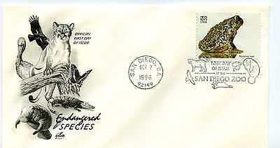 3105g Endangered Species: Wyoming Toad, ArtCraft FDC