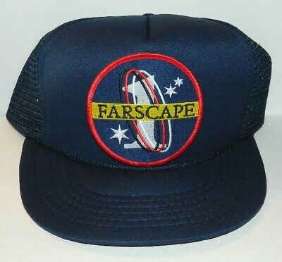 Farscape TV Series Name Logo Embroidered Patch Baseball Hat, NEW UNUSED