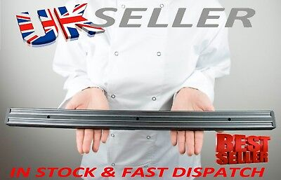 "MAGNETIC KNIFE RACK 24"" ( 62cm ) COMMERCIAL HEAVY DUTY GRADE LIFETIME GUARANTEE"