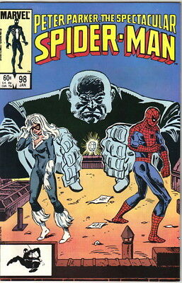 The Spectacular Spider-Man Comic Book #98, Marvel 1985 VERY FINE/NEAR MINT