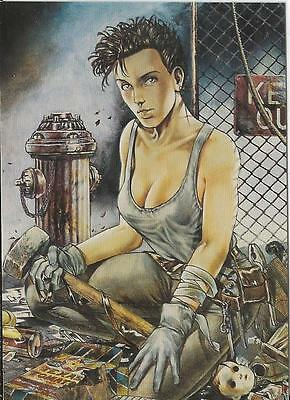 The Art of Heavy Metal 1995 Comic Images Promo Card RARE