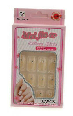 12 Faux Ongles A Coller Manucure  Onglerie Peterandclo Art Nail 1920